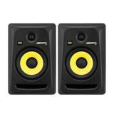 美国品牌Rokit6 G3/RP6G3 6寸有源专业录音室监听音箱(一对)