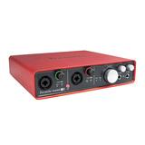 Scarlett 6i6 一代 专业录音外置USB声卡
