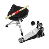 罗兰(Roland) TDV-150 电鼓配件套装 单踩锤/鼓凳/鼓棒套装