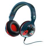 Hesh(碎甲弹) 重低音头戴式耳机 蓝色大嘴猴 (蓝色)