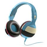 Hesh(碎甲弹) 重低音头戴式耳机 条纹浅蓝 带麦