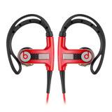 New PowerBeats 新版双动力 带麦 入耳式运动耳机  (红色)