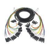 EWI MTFM-24-30 24路 30英尺 多芯电缆信号线 24组公母卡农线 舞台演出录音棚音频信号线