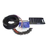 EWI PSPX-16X8-150 16路 150英尺 舞台接线盒 音频信号接线盒