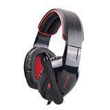 SA-902 7.1 声道声效游戏耳机 USB耳机 (黑色)