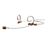 FID88C00-2 d:fine HeadSet Microphones 电容式双耳带微型麦克风 棕色