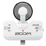 ZOOM IQ5麦克风搭配红豆耳机 手机K歌套装