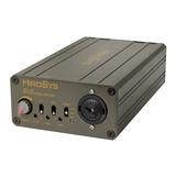 HiroSys MA-1B 话筒前置放大器 48V设电池安装供电