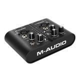M-Track Plus专业USB外置录音声卡 音频接口