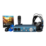 美国品牌 AudioBox iTwo Studio 专业录音K歌声卡套装