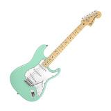 电吉他品牌 011-5602-357 美特 STRAT 枫木指板 电吉他 (冲浪绿)