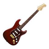 电吉他品牌 013-3000-338 墨豪 PLAYER STRAT 电吉他 (透明深红色)