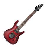 依班娜(Ibanez) 电吉他品牌 S520 超薄 双摇电吉他 (黑莓渐变色)