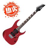 GRG170DX 24品小双摇电吉他 2015新款 (苹果红色)