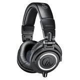 ATH-M50x专业头戴式监听耳机 (黑色)