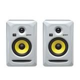 卡尔卡(KRK) 美国品牌Rokit5 G3/RP5G3 5寸有源专业录音室监听音箱(白色一对装)