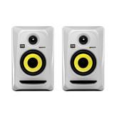卡尔卡(KRK) 美国品牌Rokit4 G3/RP4G3 4寸有源专业录音室监听音箱(白色一对装)