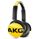 爱科技(AKG) Y50 音乐耳机 带线控麦克风 (黄色)