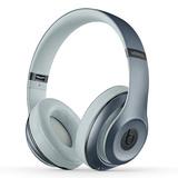 Beats studio Wireless【吴亦凡同款】无线蓝牙录音师耳机 头戴式降噪电脑手机耳机 (天空蓝)