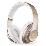 Beats studio Wireless 无线蓝牙录音师耳机 头戴式降噪电脑手机耳机(金色)