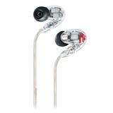 舒尔(SHURE) SE846四单元动铁耳机入耳式重低音 HIFI监听耳机 (透明色)