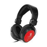 OA-8022M 头戴式游戏语音多媒体电脑耳机 (红色)