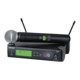 SLX24/SM58 KTV/演出手持式无线动圈麦克风
