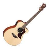 雅马哈(YAMAHA) AC1M 40寸单板民谣电箱木吉他 原木色