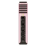 得胜(TAKSTAR) PH-120 电容式手机K歌主播麦克风 (纯真粉)
