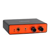 联想(Lenovo) UC30 电脑网络K歌外置USB声卡(橙色)