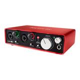 富克斯特(Focusrite)Scarlett 2i2二代 专业录音 USB外置声卡 音频接口升级版