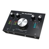 美奥多(M-AUDIO) M-Track2x2M 2进2出专业音频接口(原型号已停产,替换型号:AIR 192/6-S (录音版))