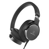 铁三角(Audio-technica) ATH-SR5 便携HIFI头戴式耳机 (黑色)