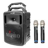 咪宝(MIPRO)MA-708  8寸户外PA拉杆多功能无线音箱(配手持麦)