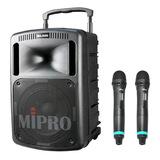 咪宝(MIPRO)MA-808  10寸户外PA拉杆多功能无线扩声音箱(配手持麦)