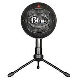 Bluesnowball-ice专业电容话筒麦克风 K歌录音直播 USB直插麦克风 (黑色)