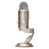 Blue Yeti 雪怪专业电容话筒麦克风K歌录音直播USB直插麦克风 (金色)