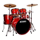 TAMA RL52KH6 节奏伴侣架子鼓 带镲片 (红色)