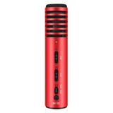 PH 105 电容式手机K歌主播麦克风 (活力红)