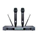 得胜(TAKSTAR) X5感应型U段 KTV/演出手持式无线动圈一拖二 家用 唱歌麦克风