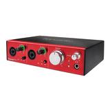 富克斯特(Focusrite) Clarett 2Pre 10进4出 雷电接口 录音编专业声卡 音频接口
