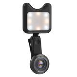 爱派赛(APEXEL) APL-3663FL 广角微距+补光灯 手机补光灯(黑色)