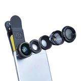 爱派赛(APEXEL) APL-DG5 鱼眼广角微距增距偏振镜 五合一手机镜头(通用)