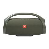 JBL Boombox音乐战神无线蓝牙音箱便携迷你户外音响hifi双低音(军绿色)