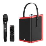 鑫宝视(monpos) Stylebox P1 直播K歌无线蓝牙音箱 单麦 带声卡效果 (红色)
