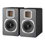 声荟(QMS) Q6 专业6.5寸有源监听音箱 黑色(一对装)