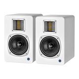 声荟(QMS) Q6 专业6.5寸有源监听音箱 白色(一对装)