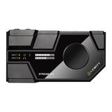STREAM 4x5 网络K歌录音外置声卡 (黑色)
