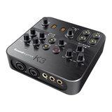 创新(Creative) SoundBlaster K3 外置K歌声卡 电脑手机声卡 主播喊麦电音录音(黑色)
