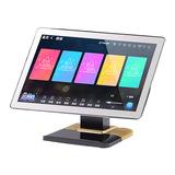惊艳 Note 21.5寸家庭KTV点歌机 高清触摸屏卡拉OK一体机家用点唱机 桌面式 电容屏 3T (摩卡金)